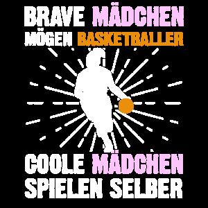 Lustige Basketballerin Geschenkidee