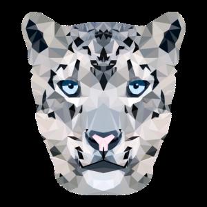 Schneeleopard / Polygon