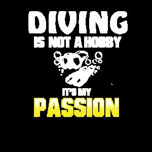 Tauchen Leidenschaft Taucher Hobby Tauchschein