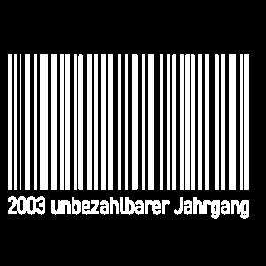 17. Geburtstag 17 2003 geboren Geburtstag 2020