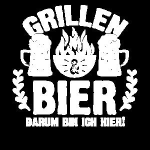 Grill Fans | Grillen und Bier lustiger Männer BBQ