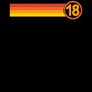 18. Geburtstag Debütantin 18 Jahre alte Geschenkid