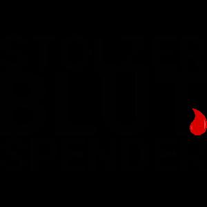 stolzer Blutspender