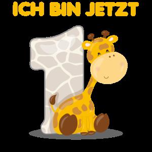 Geburtstag Geschenk Jungen Mädchen 1 Jahr Giraffe