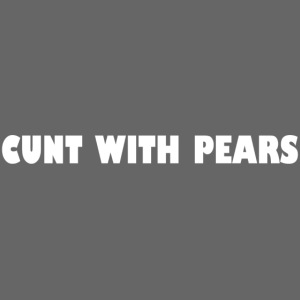 With pears