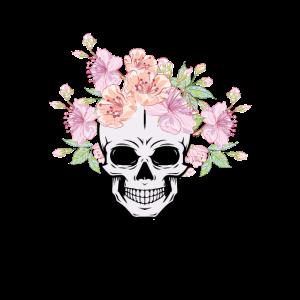 Totenkopf Piraten Schmuck Rosen Frauen
