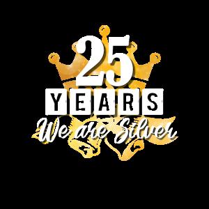 25 Jahre - wir sind silber!