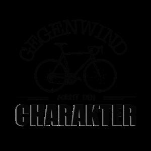 Gegenwind formt den Charakter Fahrrad Mountainbike