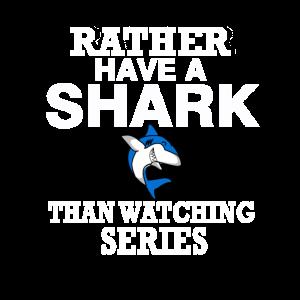 Weißer Hai Meeresbiologe Haiforscher Spruch
