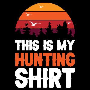 Hunting Shirt Retro jagen Jäger Geschenk Wildnis