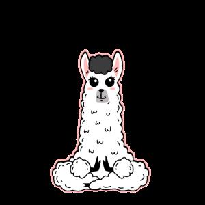 Llama Meditation Namaste