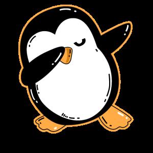Dabbing Pinguin