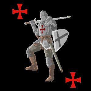 Kreuzritter cooles Mittelalter und Ritter