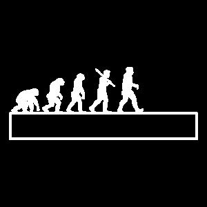 Evolution Affen Vorlage Template Lustig