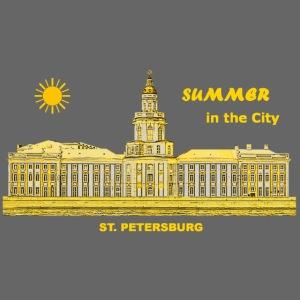 Summer Sankt Petersburg Russland Sommer Eremitage