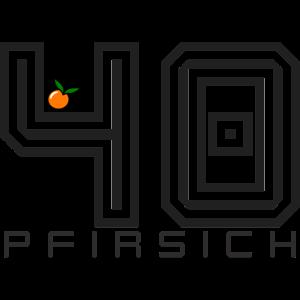 40 # Pfirsich