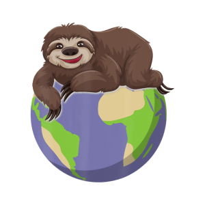 Earth Day Love The Earth Sloth Environment Awarene