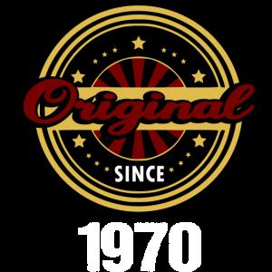 50 Geburtstag Geschenk Original Since 1970 Fun