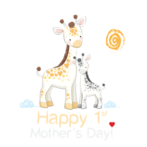 Happy first Mother´s Day - Giraffe