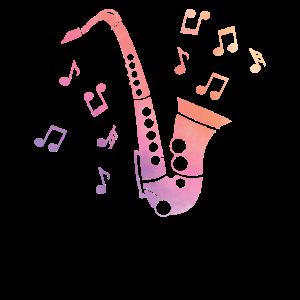 Saxophonenspieler Saxophonist