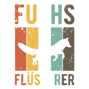 Fuchsflüsterer Retro Fuchs