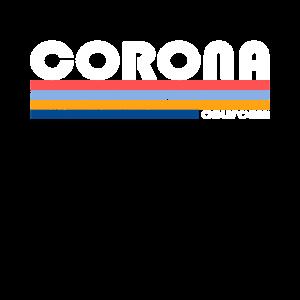 Vintage 1980er Stil Corona California