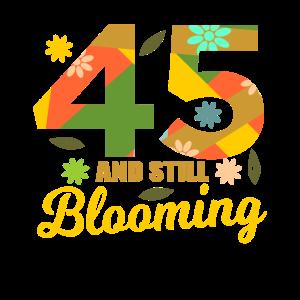 45. Geburtstag 45 Jahre alte Geschenkidee