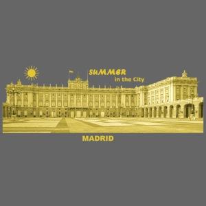 Summer Madrid City Spanien Spain Palacio Real