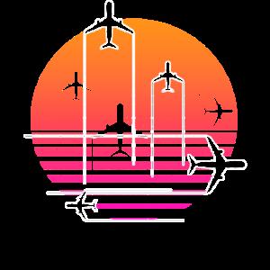 Flugzeug Fliegen Flieger Pilot