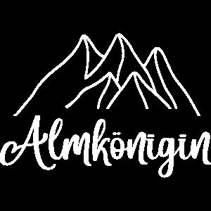 Almkönigin Alm Alp Allgäu Tirol Berge Wandern Ski