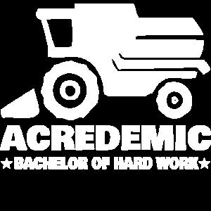 Lustiges Design für Landwirte und Akademiker