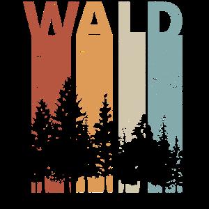 Wald Baum Holz Retro vintage