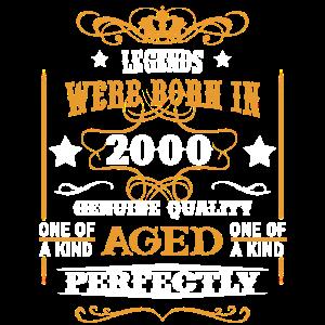 Jubiläum 2000 perfekt gealtert