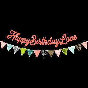 Birthday Wimpelkette