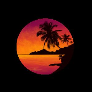 tropical Sunset - Sonnenuntergang