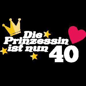 40. Geburtstag Prinzessin 40