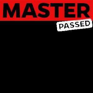 Master Bestanden Prüfung Schulabschluss Matura
