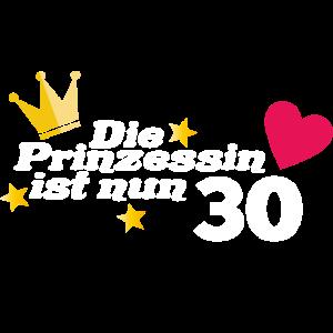 30. Geburtstag Prinzessin 30