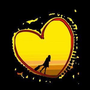 Reisen Sie im Herzen