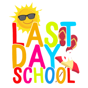 Glücklicher letzter Tag des Schullehrers Schüler