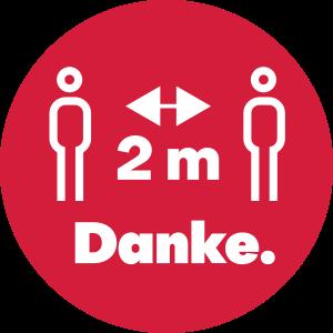2m Abstand button 56mm