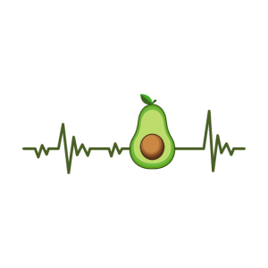 Avocado Herzschlag