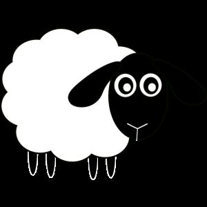 Schaf Bauernhof Landwirt lustig Tiere Geschenk