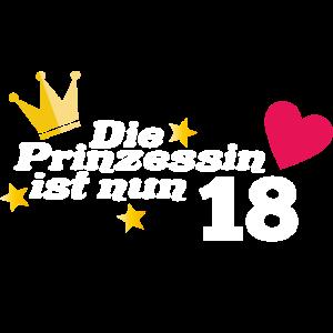 18. Geburtstag Prinzessin 18