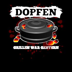 Lustiges Grill Dopfen Grillmeister Geschenk