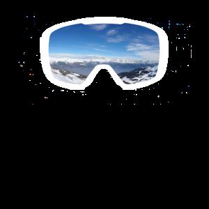 Skibrille Alp Panorama