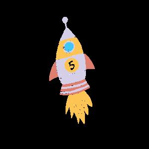 Kinder Rakete 5 Geburtstag