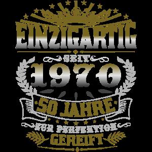 1970 geboren 50.Geburtstag Spruch Geschenk