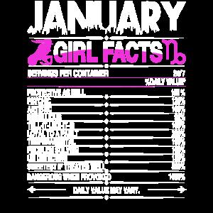 Januar Steinbock Mädchen Fakten