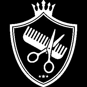 schere kamm wappen symbol logo